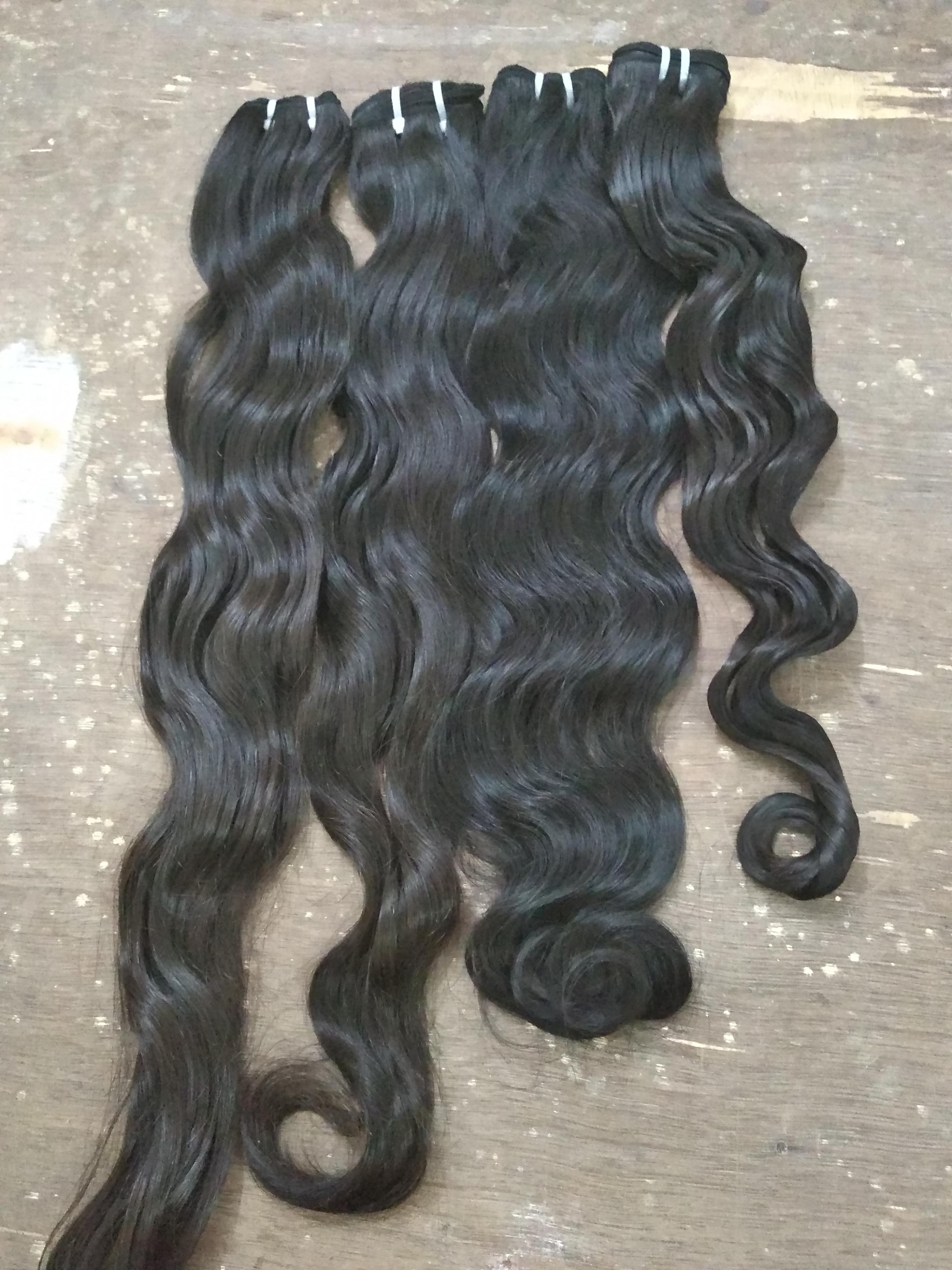 Indian Virgin Body Wavy Human Hair