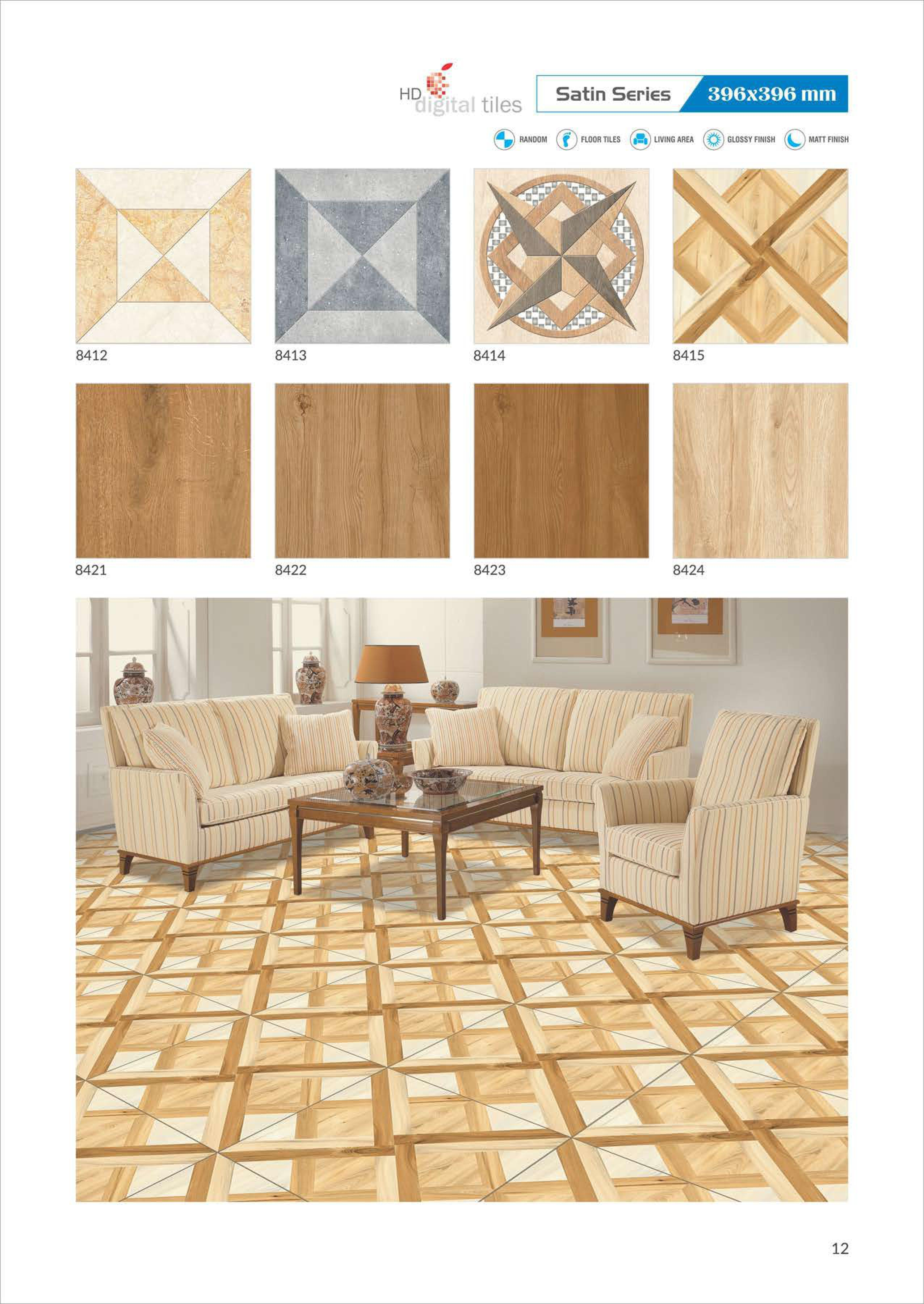 Digital Color  Tiles Collections