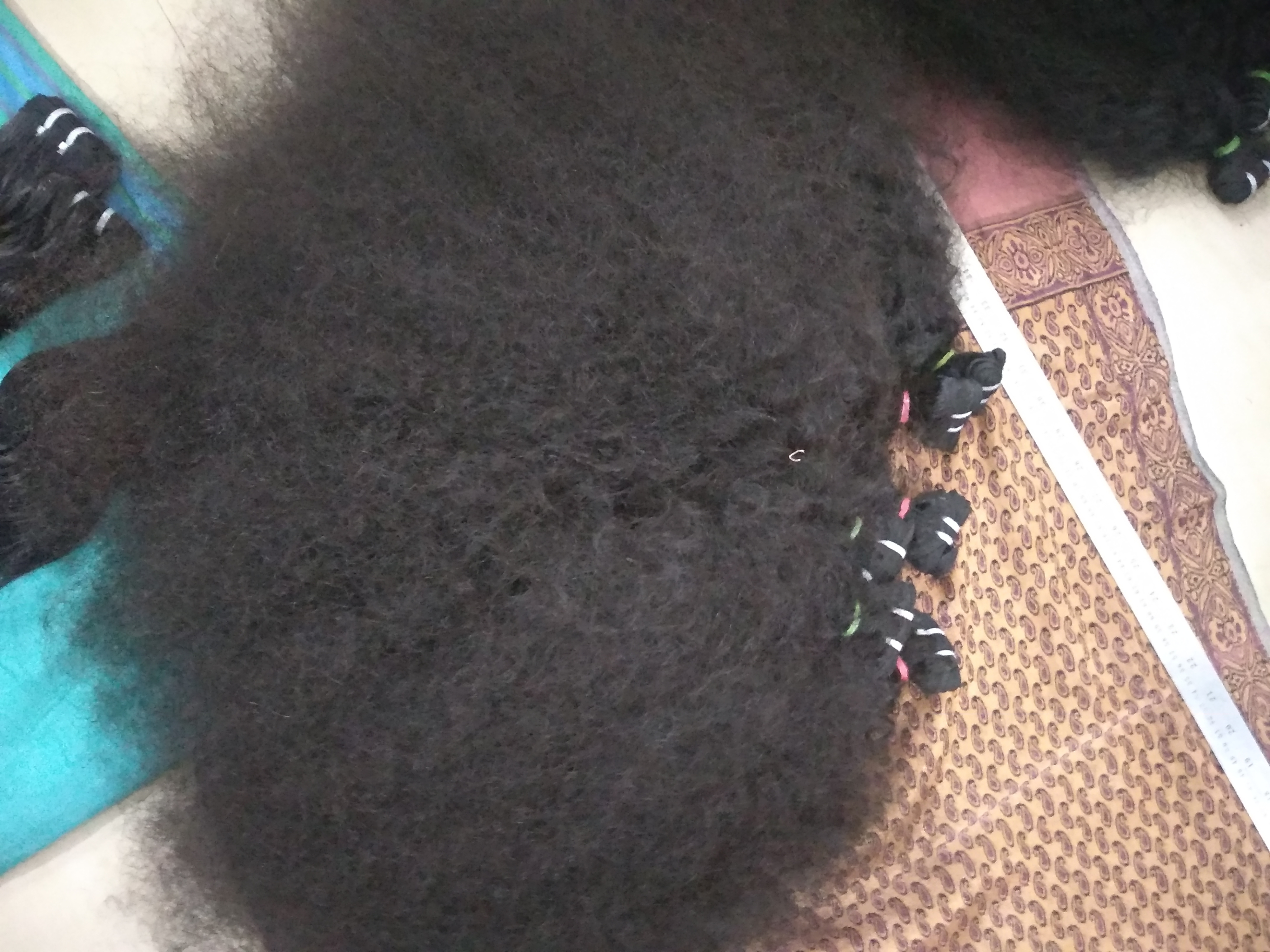 Indian Virgin Curly Human Hair Extensions