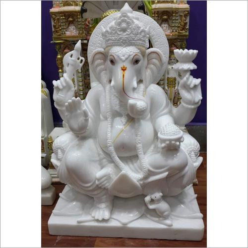 Marble Ganesh Ji Statue