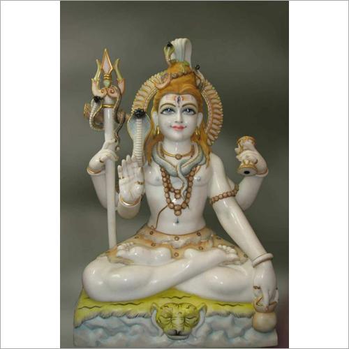 Mahadev Ji Marble Statue