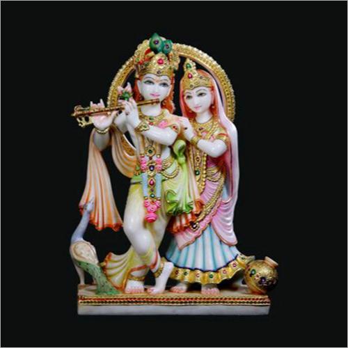 High Quality Radha Krishna Marble Statue