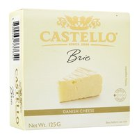 CASTELLO BRIE CHEESE 125 GMS