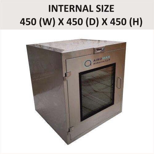 Brand New 450 X 450 X 450 Static Pass Box