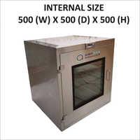 Brand New 500 X 500 X 500 Static Pass Box