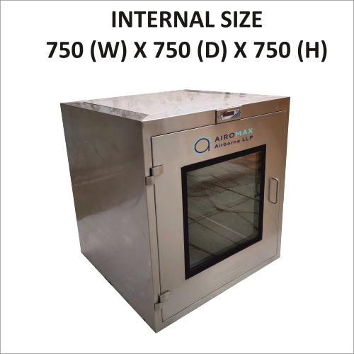 Brand New 750 X 750 X 750 Static Pass Box