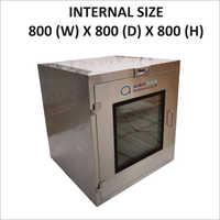 Brand New 800 X 800 X 800 Static Pass Box
