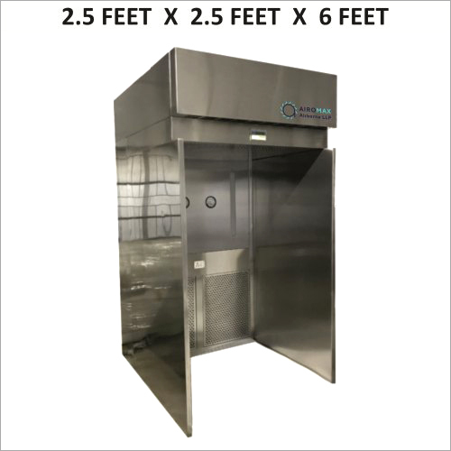 2.5 X 2.5 X 6 FT Sampling and Dispensing Booth