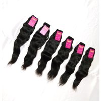 Wholesale Natural Virgin Indian Hair Weave Single Drawn Human Hair Extensions
