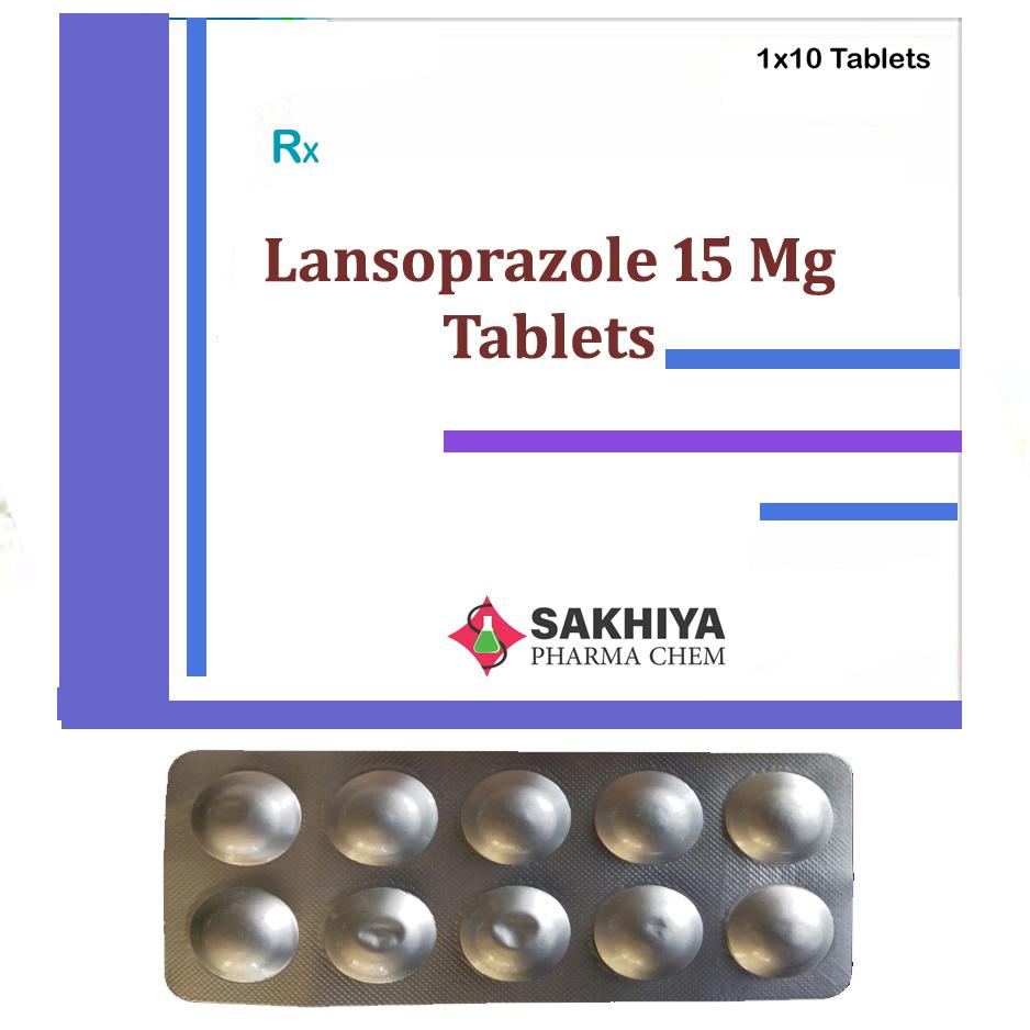 Lansoprazole 15mg Tablets