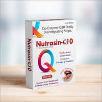 Co-Enzyme-Q10 Orally Disintegrating Strips