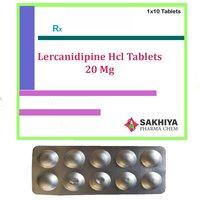 Lercanidipine Hcl 20mg Tablets
