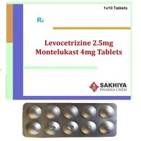 Levocetirizine 2.5mg + Montelukast 4mg Tablets