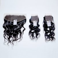 Wholesale Factory Price Natural Color Cuticle Aligned 100% Raw Indian Virgin human Hair Lace Frontal