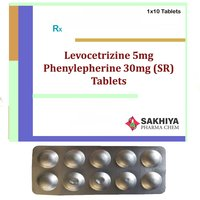 Levocetirizine 5mg + Phenylephrine 30mg (SR) Tablets
