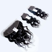 Wholesale Price Silky Straight Human Hair 13x4/13x5 Hd Transparent Frontal Lace Closures