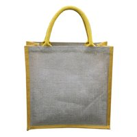 PP Laminated Jute Tote Bag