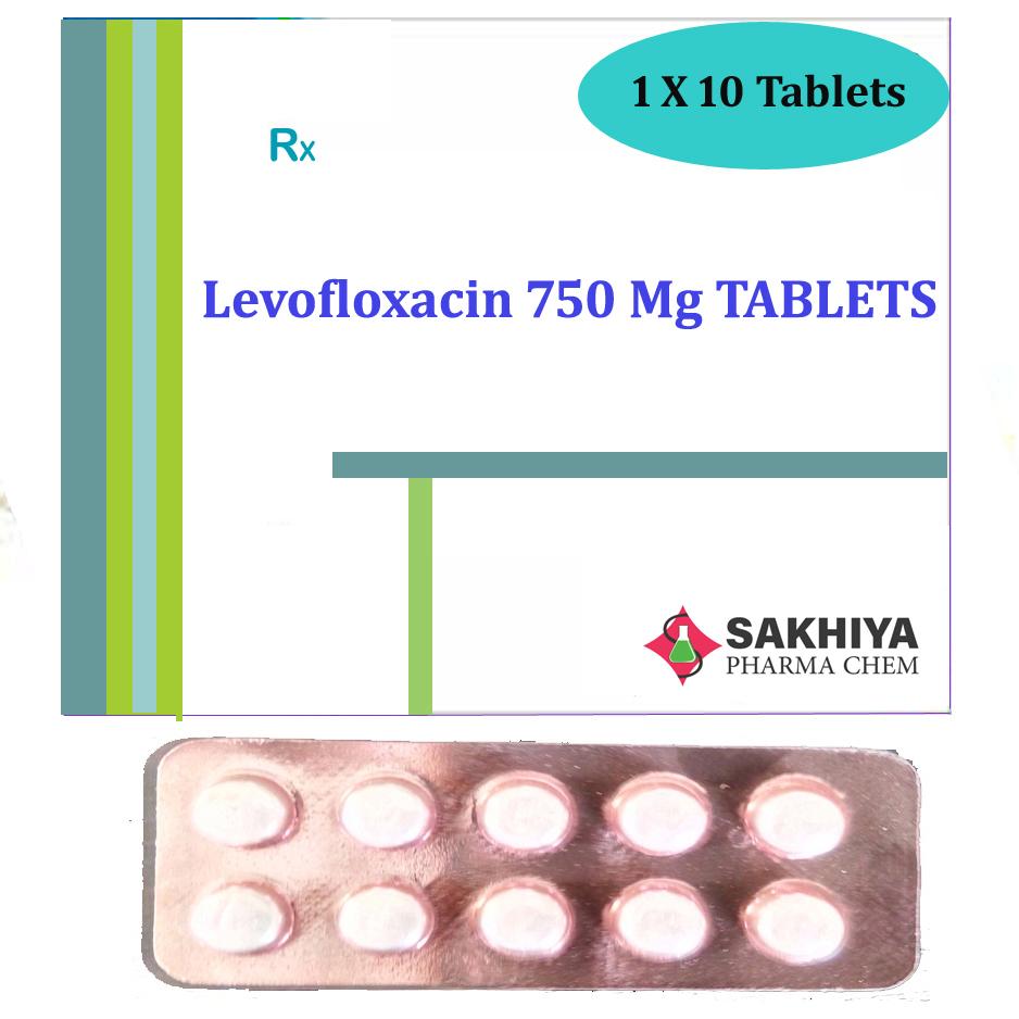 Levofloxacin 750mg Tablets