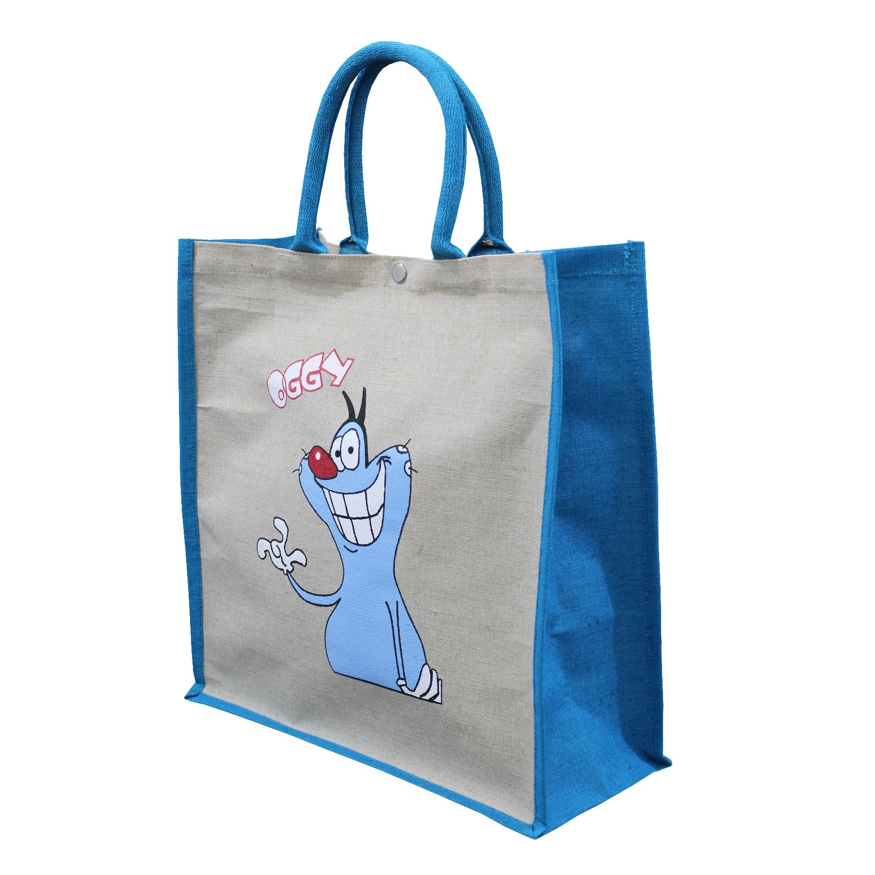 PP Laminated Juco Fabric Tote Bag