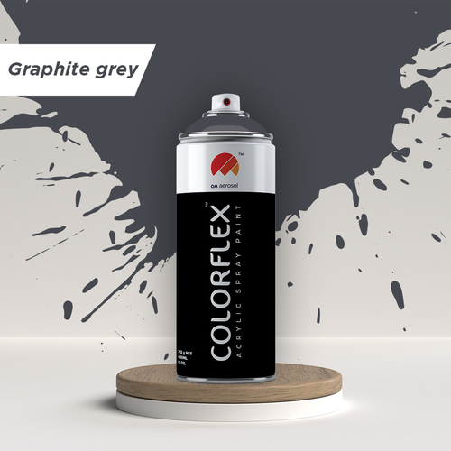 Colorflex  Graphite Grey Spray Paint