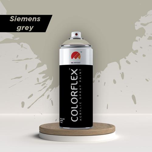 Colorflex Siemens Grey Spray Paint