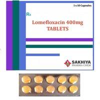 Lomefloxacin 400mg Tablets