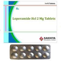 Loperamide Hcl 2mg Tablets