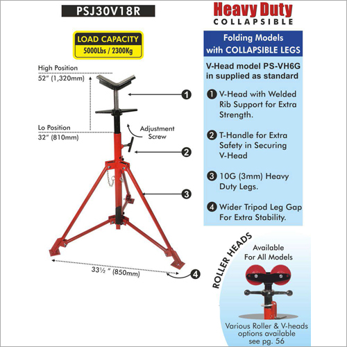 Pipe Stand J Type