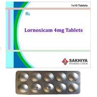 Lornoxicam 4mg Tablets
