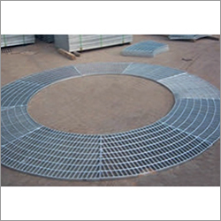 Circular Platform Grating
