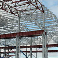 Galvanised Painted Steel Structure