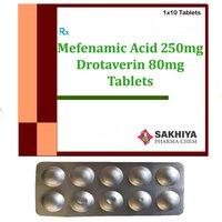 Mefenamic Acid 250mg + Drotaverin 80mg Tablets