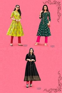 Summer Beauty Vol-1 Rayon Cotton Print Kurtis