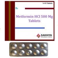 Metformin Hcl 500mg Tablets
