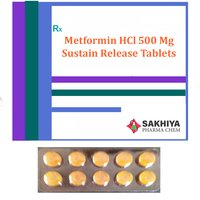 Metformin Hcl 500mg Sustain Release Tablets