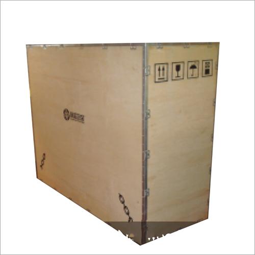 Collapsible No Nail Wooden Box