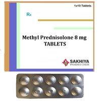 Methyl Prednisolone 8gm Tablets