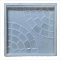 Double Half Round Chequered Tiles Moulds