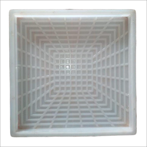 3D Design Chequered Tiles Moulds