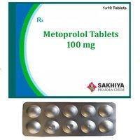 Metoprolol 100mg Tablets