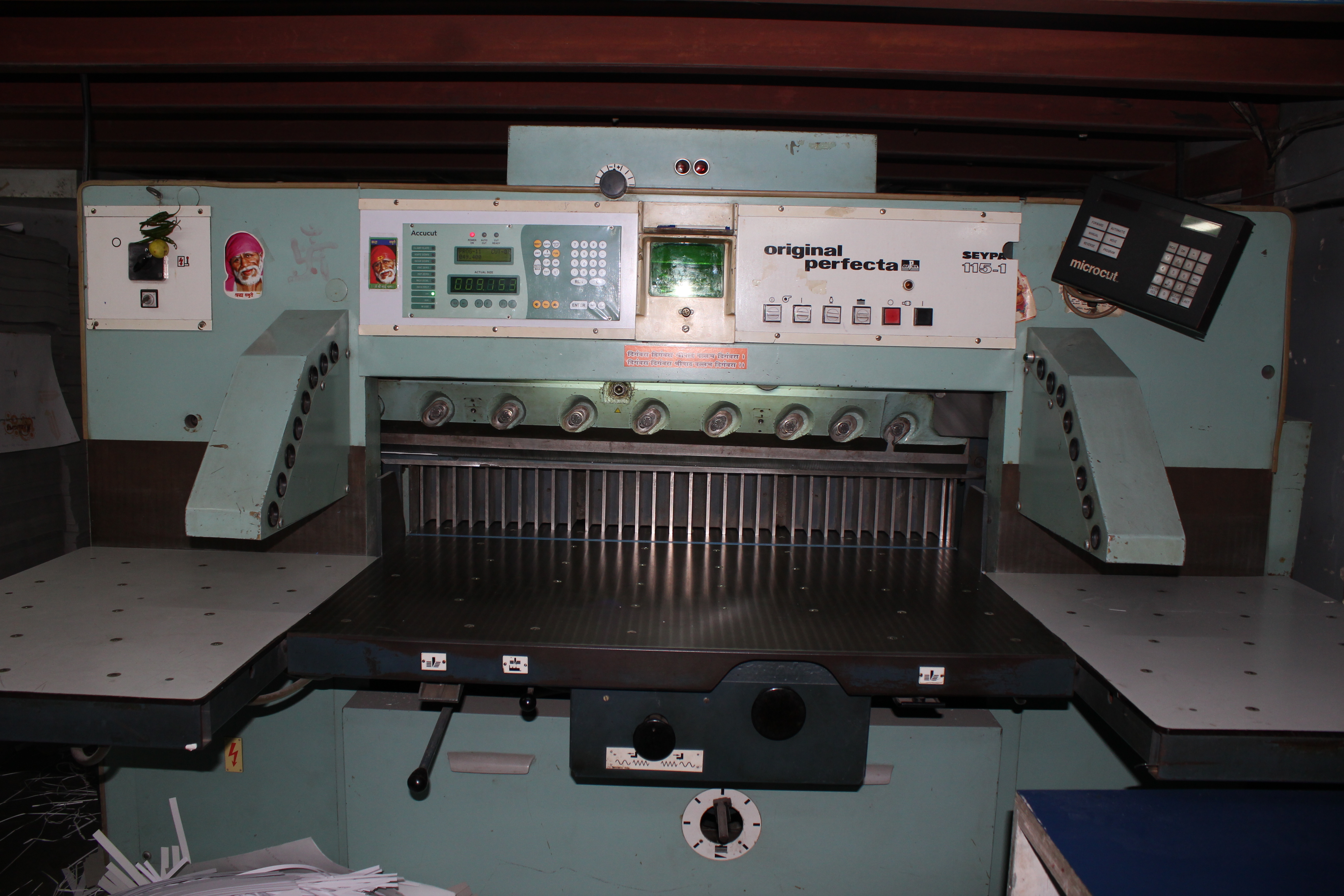 Patwardhan Cutting Machine Programming