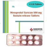 Metoprolol Tartrate 100mg Sr Tablets