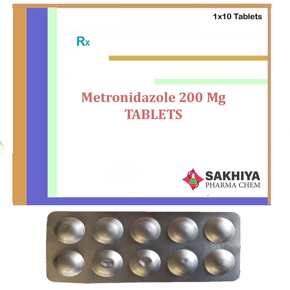 Metronidazole 200mg Tablets