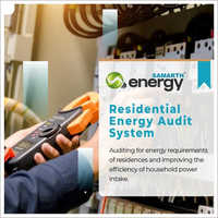Residential Energy Audit Services