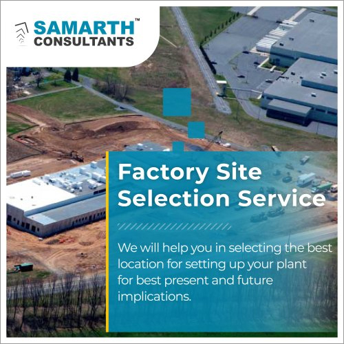 Factory Site Selection Services