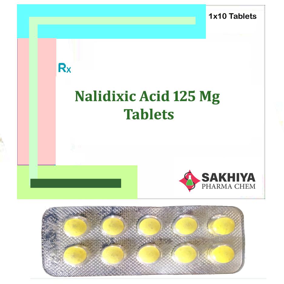 Nalidixic Acid 125mg Tablets