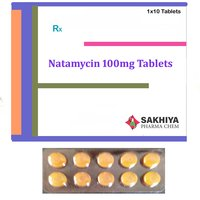 Natamycin 100mg Tablets