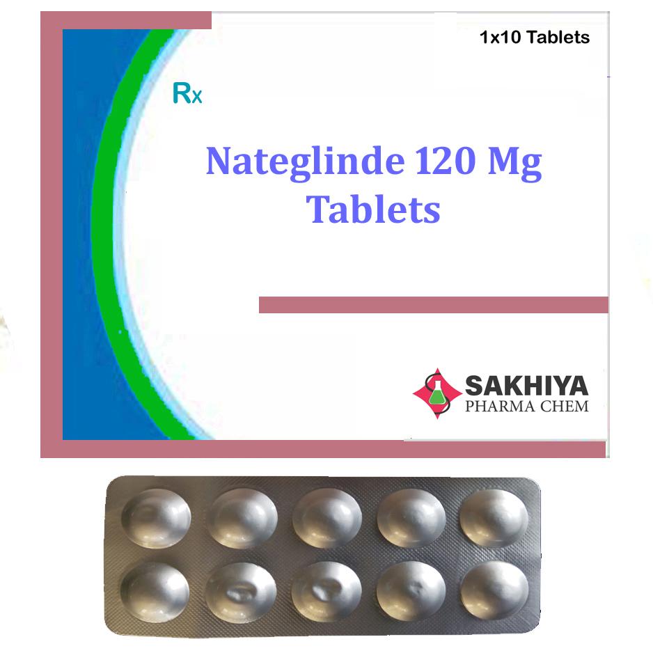 Nateglinide 120mg Tablets