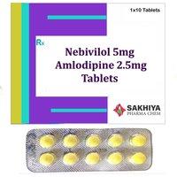 Nebivolol 5mg + Amlodipine 2.5mg Tablets
