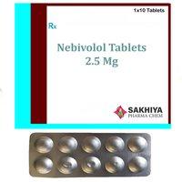 Nebivolol 2.5mg Tablets